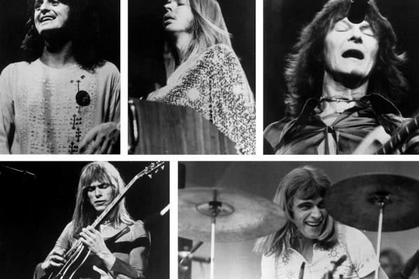 Jon Anderson, Rick Wakeman, Chris Squire, Steve Howe et Alan White : yes sirs !